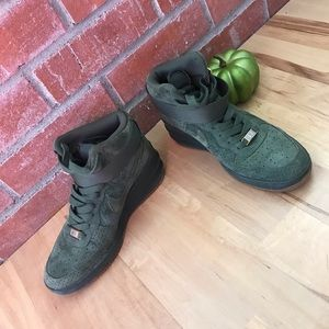 Nike Air Force one high top shoes